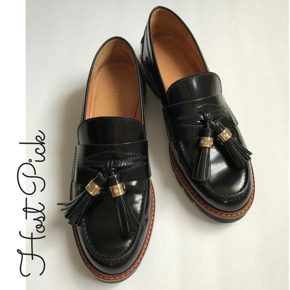 e1ce61825fb Stuart Weitzman Black Manila loafers NWT 6.5